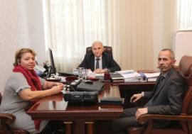 Национальный координатор проекта TB-REP и партнёр проекта со стороны гражданского общества из Азербайджана обсудили перспективы сотрудничества