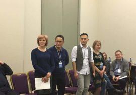 """Адилет Алимкулов, """"Кыргыз Индиго"""" (Кыргызстан): """"Работая в консорциуме, мы продолжим избавляться от стигмы, стереотипов к друг-другу, наш голос как """"ключевой группы"""" усилится, и мы будем единым движением""""."""