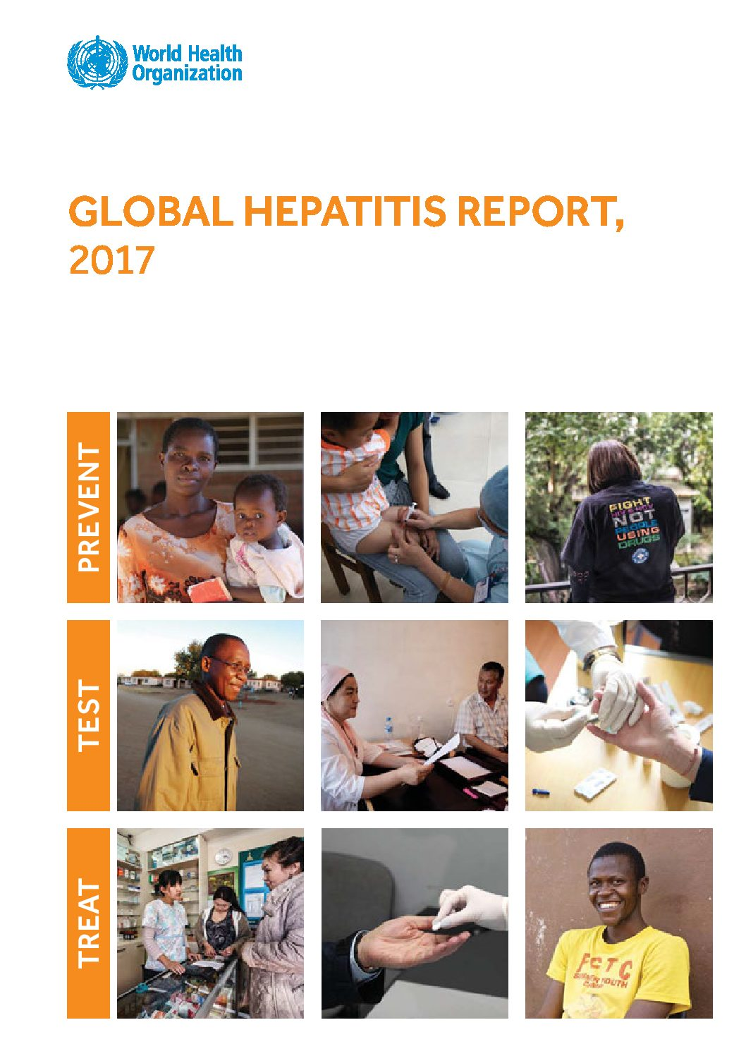 WHO Global hepatitis report, 2017