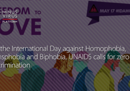 On the International Day against Homophobia, Transphobia and Biphobia, UNAIDS calls for zero discrimination
