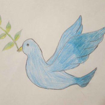 Агайша, 11 лет. Мечтает о мире во всем мире!