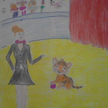 Аида, 10 лет. Мечтает стать дрессировщицей тигров!