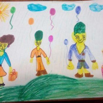 Кирилл, 6 лет. Мечтает отпраздновать следующее день рождения с семьей в парке