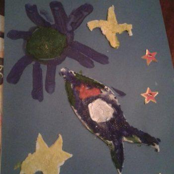 Илья, 6 лет. Мечтает стать космонавтом и полететь к звездам!