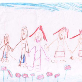Наумова Варя, 5 лет, Мечтает о том, чтобы родные люди всегда были вместе - здоровые, счастливые и веселые!