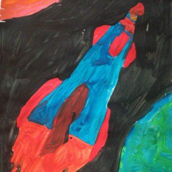Я - Егор. Мне 7 лет. Я буду художником или космонавтом. Еще не решил. И у меня будет собака