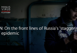 CNN: On the front lines of Russia's 'staggering' HIV epidemic