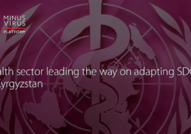 Health sector leading the way on adapting SDGs in Kyrgyzstan