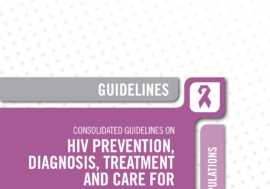 Consolidated guidelines on HIV prevention, diagnosis, treatment and care for key populations – 2016 update.