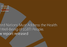 United Nations Must Address the Health and Well-Being of LGBTI People