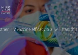 Another HIV vaccine efficacy trial will start this year