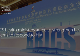 BRICS health ministers agree to strengthen health systems to respond to HIV