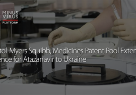 Bristol-Myers Squibb, Medicines Patent Pool Extend Licence for Atazanavir to Ukraine