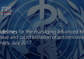 Guidelines for the managing advanced HIV disease and rapid initiation of antiretroviral therapy