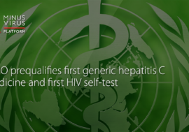 WHO prequalifies first generic hepatitis C medicine and first HIV self-test