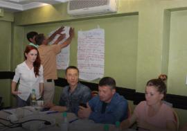 Рабочая встреча с лидерами сообщества ЛЖВ в Казахстане