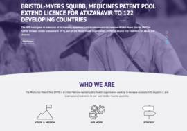 Медицинский патентный пул обновил свой веб-сайт