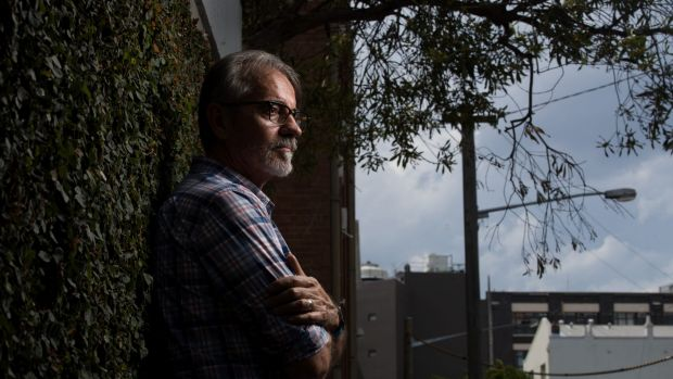 David Crawford was diagnosed with HIV in 1984 and now counsels people growing old with the virus. Photo: Janie Barrett