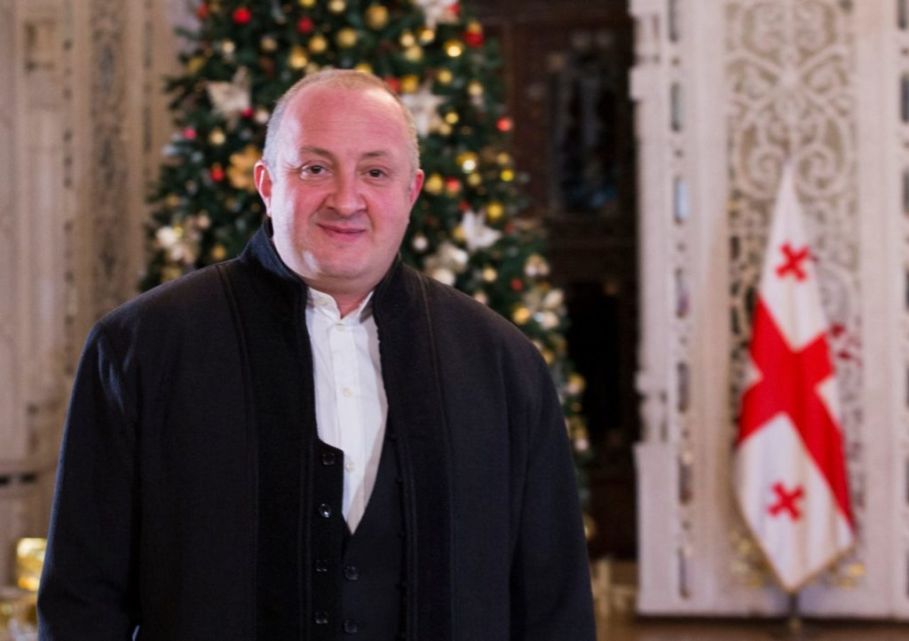 Грузинский президент Георгий Маргвелашвили