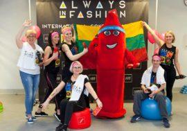 День презерватива в Литве опраздновали в спортзале
