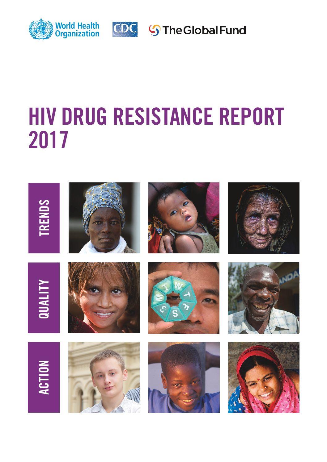 HIV drug resistance report 2017