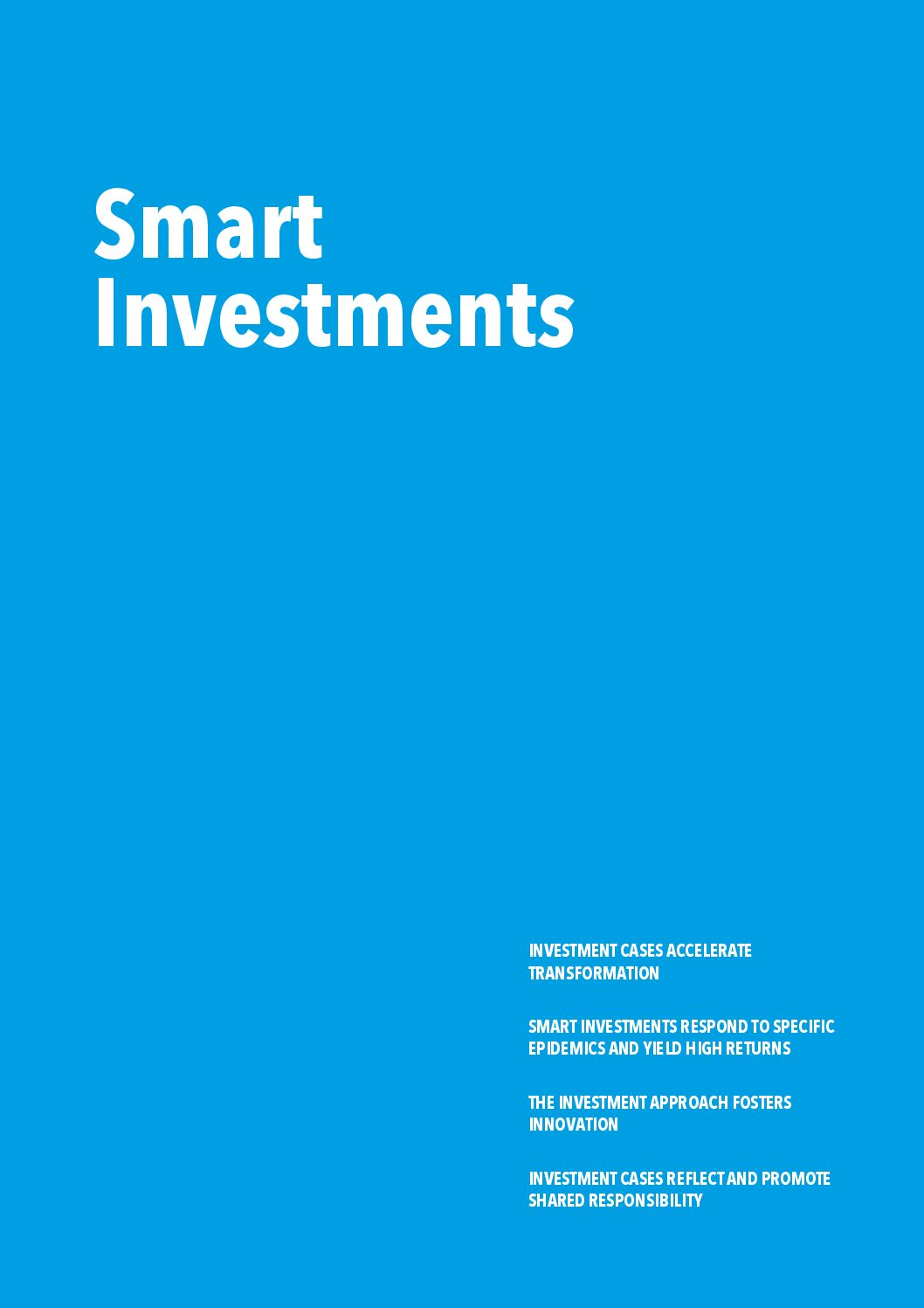 Smart investments.