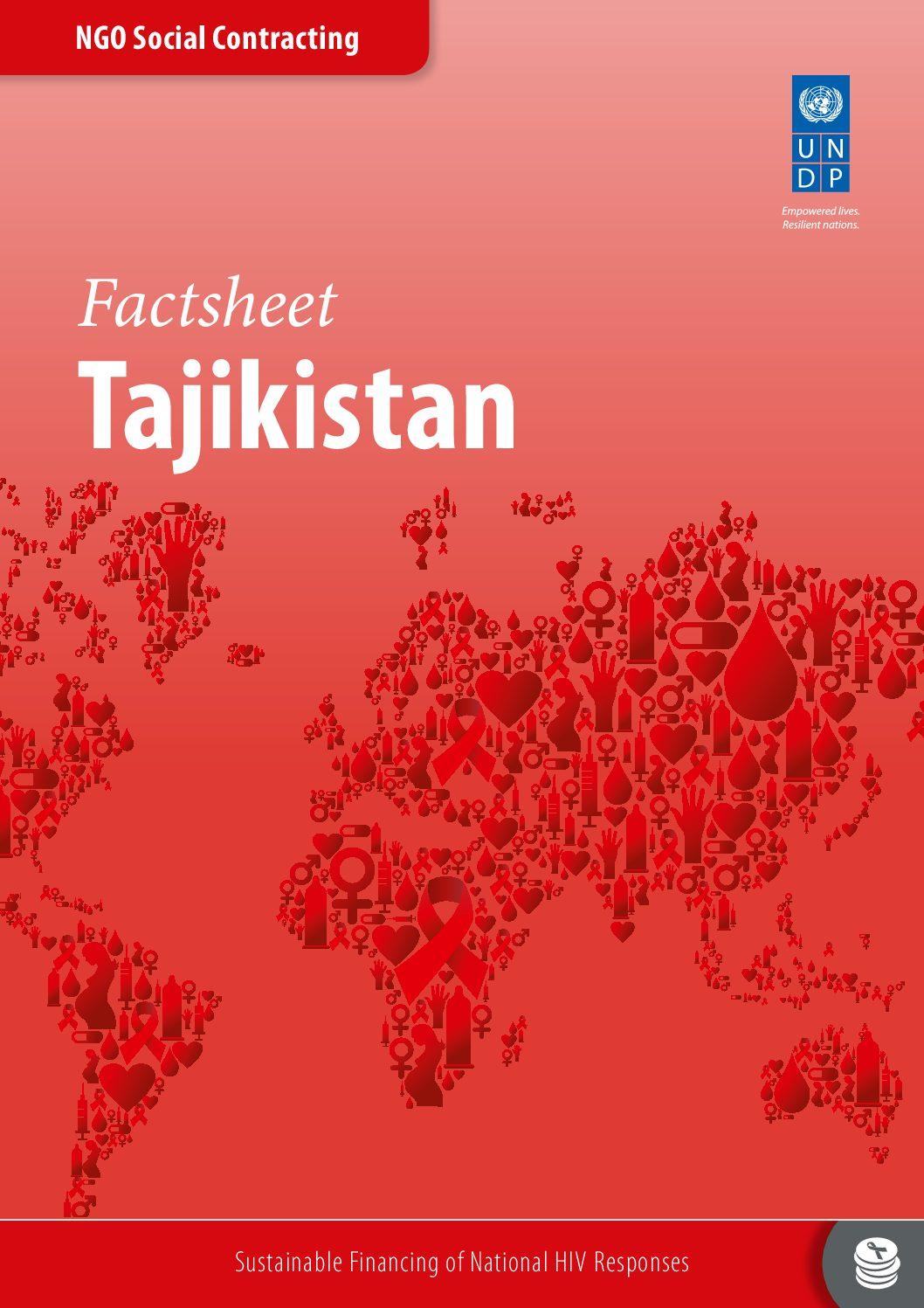 UNDP NGO factsheet Tajikistan.