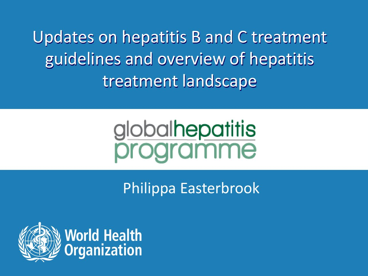 Updates on hepatitis B and C treatment.