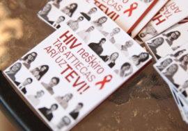 Количество ВИЧ-инфицированных в Латвии выросло на 5% за год