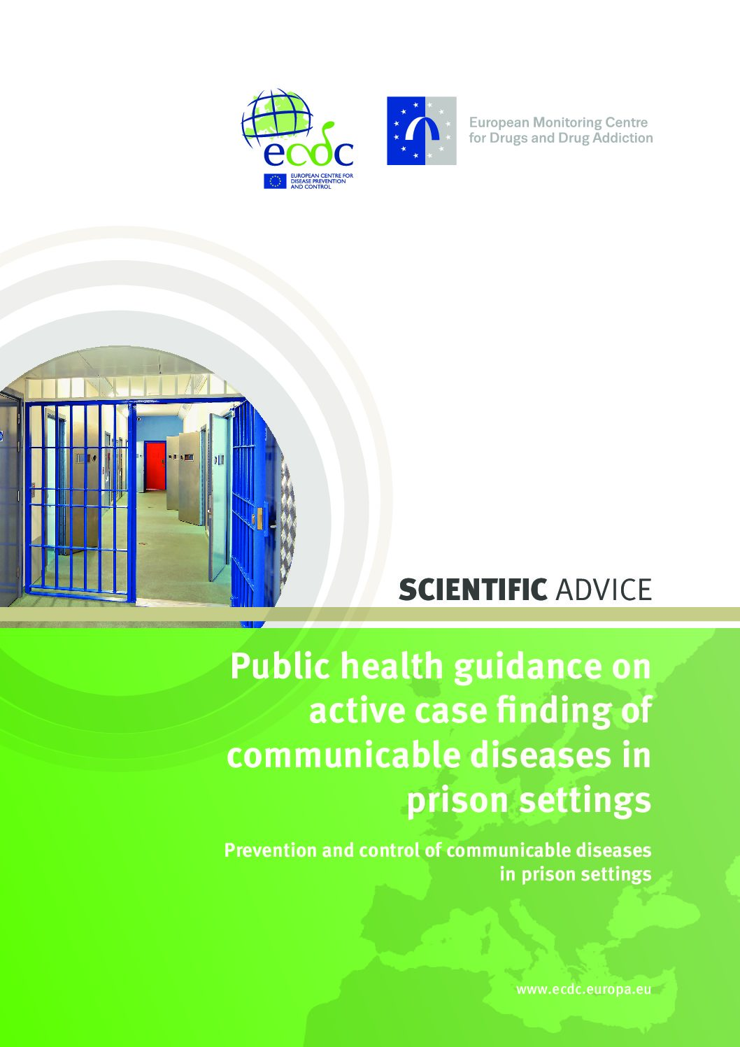 Public health guidance on active case finding of communicable diseases in prison settings