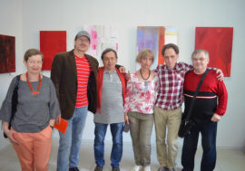 """""""The Color of Blood – Fire, Love and Life"""". Poltava holds an art exhibition to commemorate the victims of AIDS"""