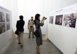 «Важен каждый человек». В Алматы открылась выставка, посвященная ЛУН