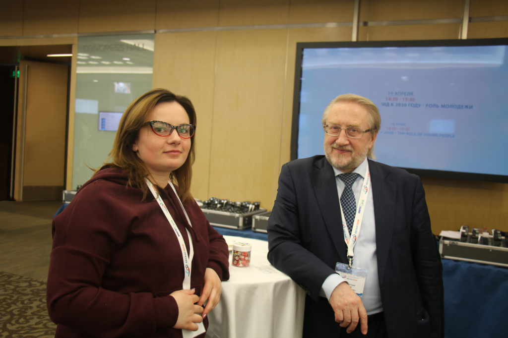 Вадим Покровский и Инна Гаврилова. Фото: MinusVirus