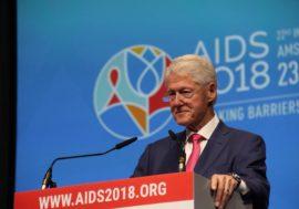 Билл Клинтон на AIDS 2018: Сможем выжить, только если объединим усилия