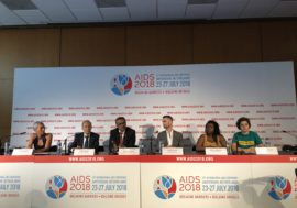 Global leaders open AIDS 2018 with a focus on people left behind