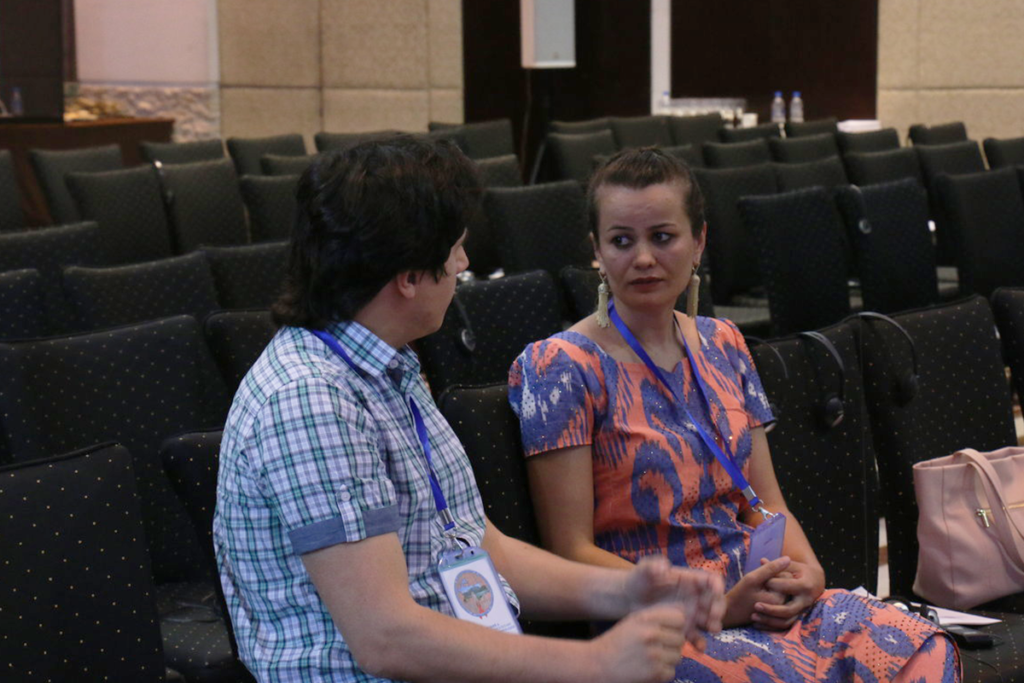 Тахмина Хайдарова и Даниил Кашницкий. Фото: Minusvirus