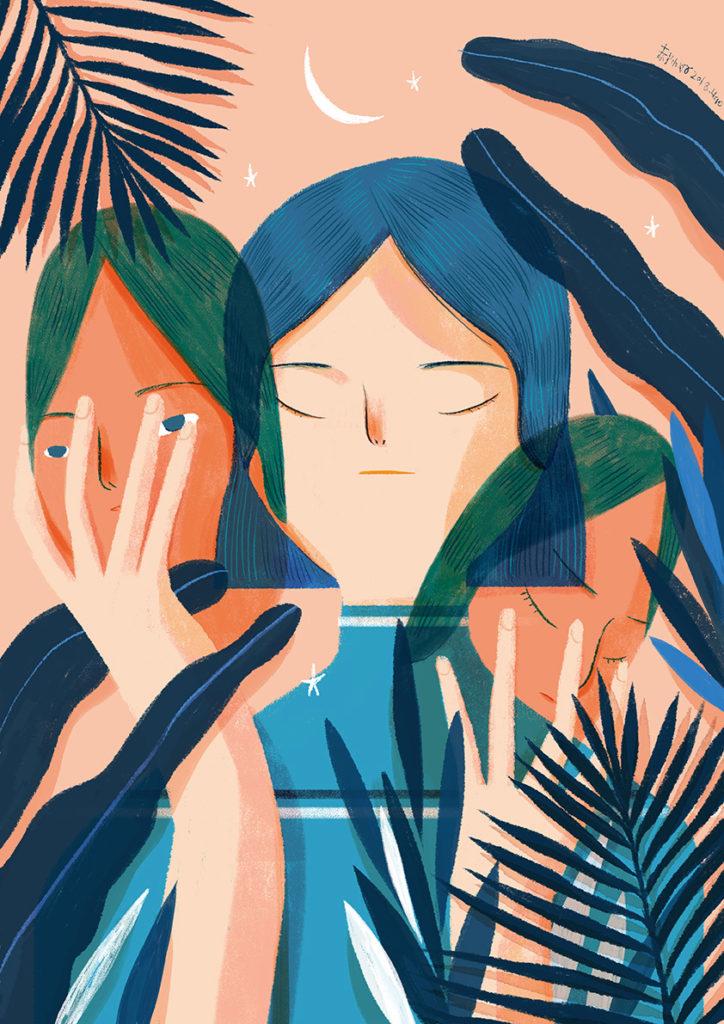 Иллюстрации: Hao Hao