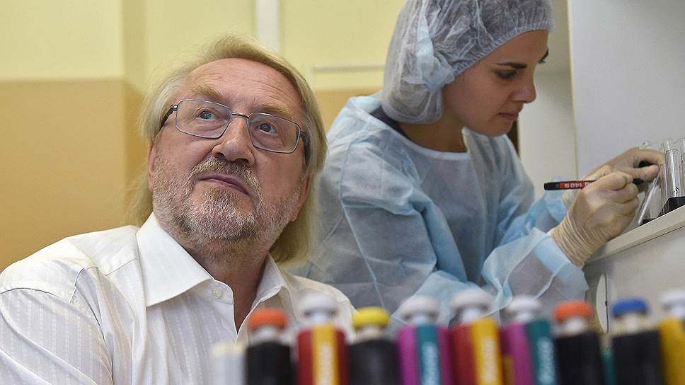 Глава Федерального центра СПИД Вадим Покровский