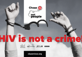 """Eurasian Women's Network on AIDS is launching the """"HIV Is Not a Crime"""" information campaign"""