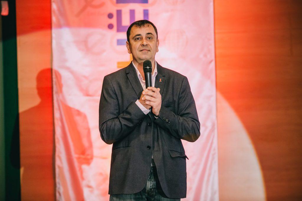 Владимир Жовтяк, сопредседатель ВЦО ЛЖВ на форуме #Партнерство