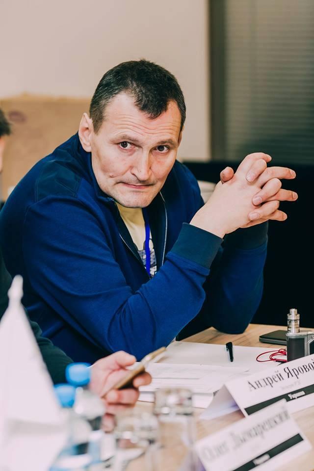 Андрей Яровой. Фото: ВЦО ЛЖВ