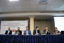 The patients and state official discuss the TB problem on the national level for the first time in Ukraine