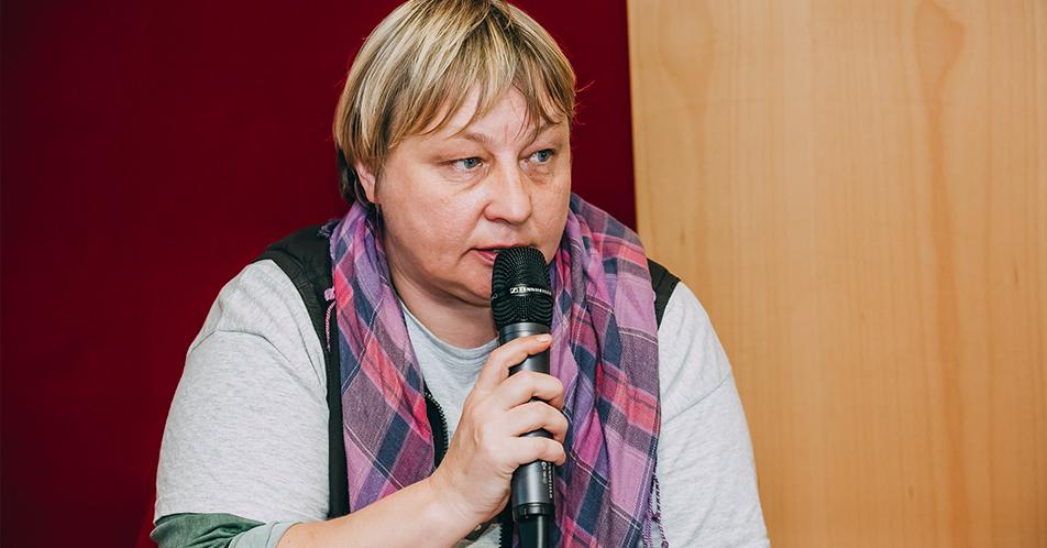Оксана Доброскок на форуме #Партнерство