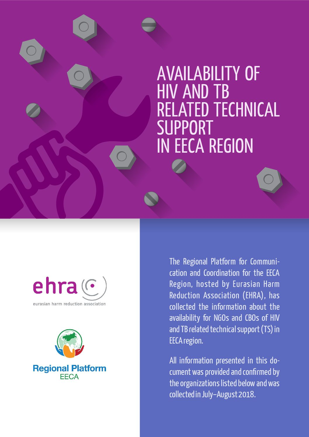 Availability of HIV and TB related technical support in EECA region