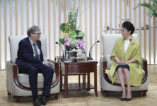 Peng Liyuan expresses support for Gates Foundation's medical efforts