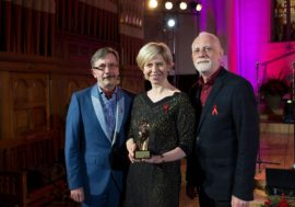 В Латвии вручили ежегодную премию Glāsts за весомый вклад в остановку эпидемии ВИЧ/СПИДа