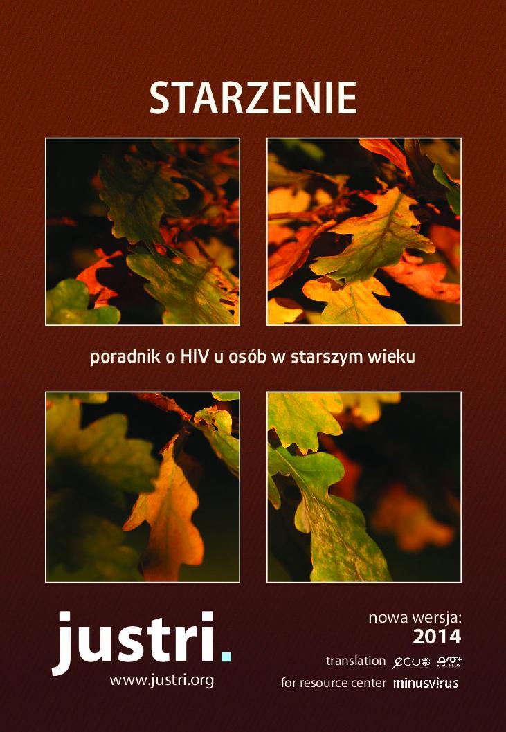 Starzenie. poradnik o HIV u osób w starszym wieku