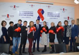 Казахстанские активисты подвели итоги кампании «Узнай свой статус»