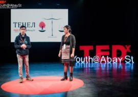 13-летний ВИЧ-позитивный казахстанец выступил на TEDxYouth