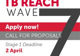 Стартовала 7 волна финансирования в рамках TB REACH